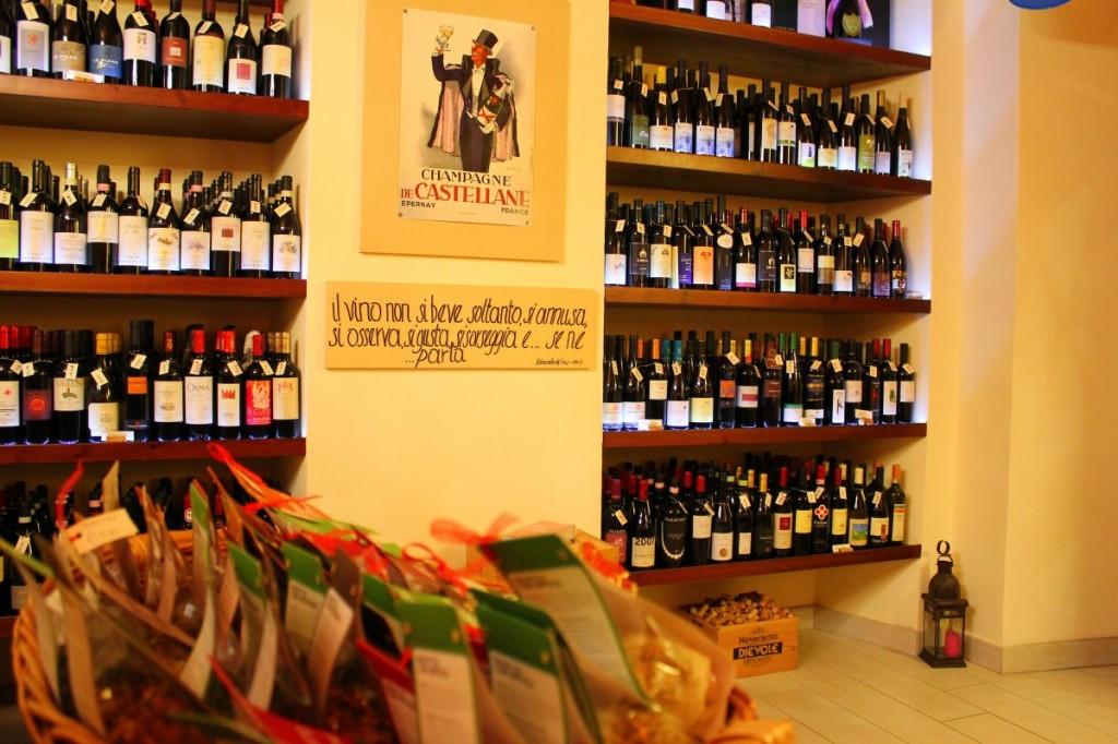 Delicatezze e prodotti naturali in abbinamento al vino