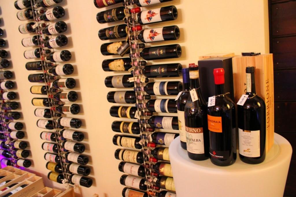 Vini pregiati di Enoteca Wine Corner