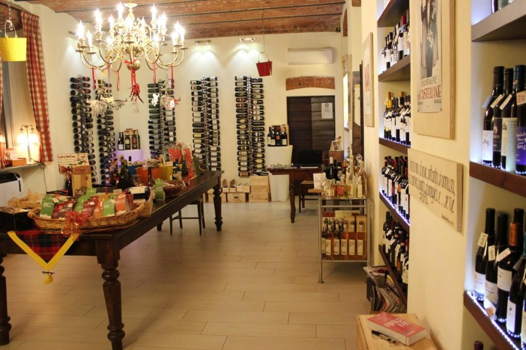 La nostra esposizione di vini pregiati